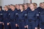 Ślubowanie absolwentek w Policji