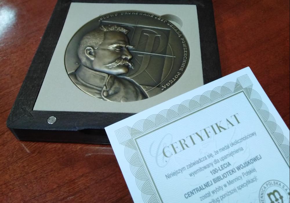 100 lat Centralnej Biblioteki Wojskowej
