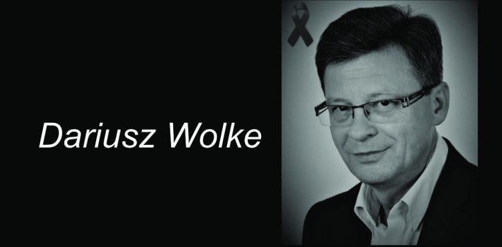 Nie żyje Dariusz Wolke, zastępca burmistrza Pragi-Północ